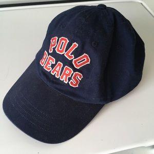 Navy blue polo Ralph Lauren bear hat